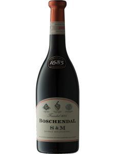 堡森道1685系列西拉穆尔韦德红葡萄酒