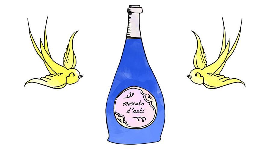 最受欢迎的11款Moscato d'Asti低泡葡萄酒