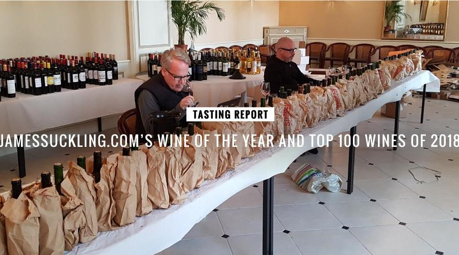 James Suckling 2018年度全球百大葡萄酒